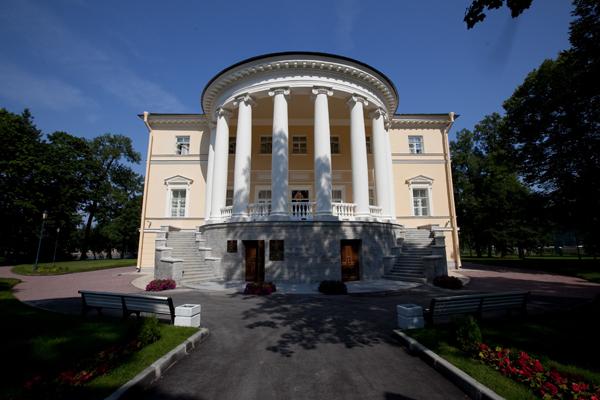Новый дворец бракосочетаний в Пушкине