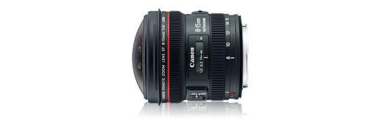 Canon 8-15 f/4L Fisheye Zoom