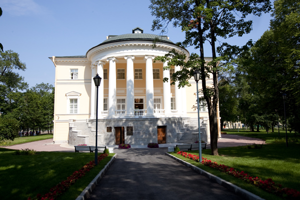 Новый дворец в Пушкине