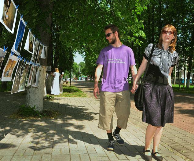 В Ярославле стартовал свободный выставочный проект «Сушка» на открытом воздухе