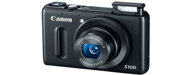 У фотоаппаратов Canon PowerShot S100 появились проблемы с объективом
