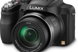 Panasonic представила фотоаппарат LUMIX FZ60 с 24-кратным увеличением