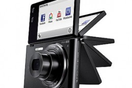 Samsung выпустил фотокамеру-«раскладушку»