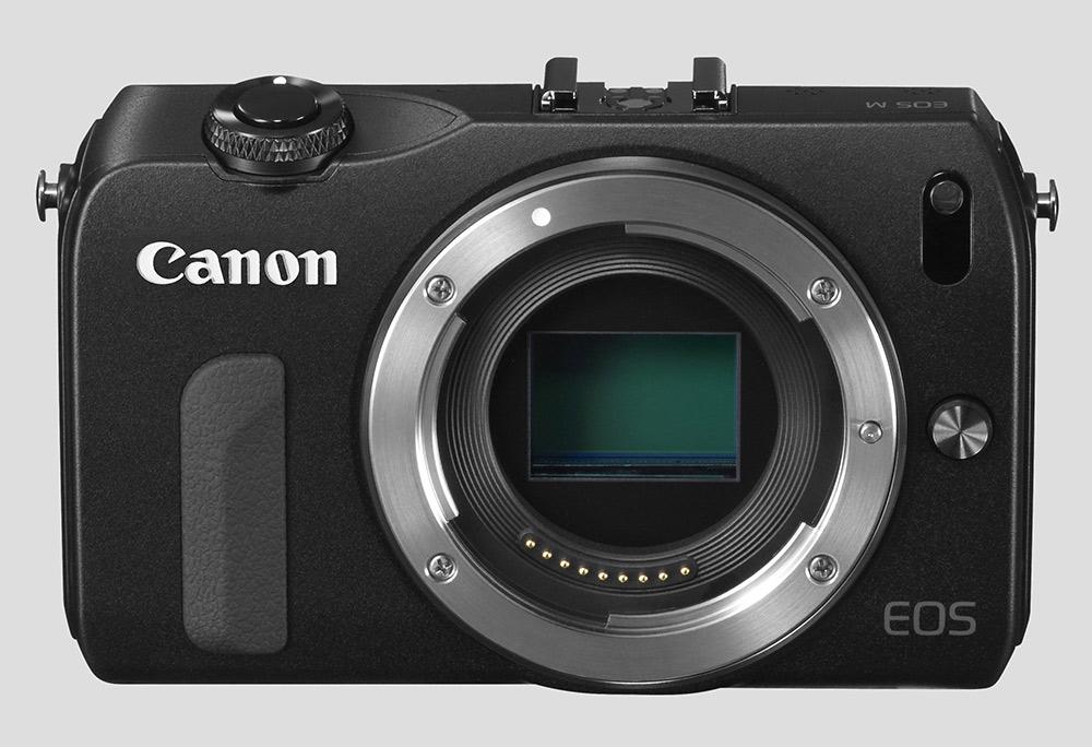 Canon — беззеркальная камера EOS M