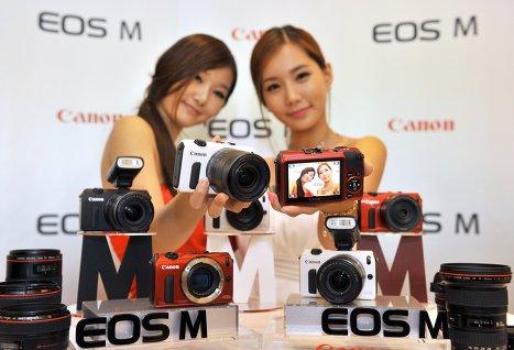 Canon выпускает беззеркальную системную фотокамеру EOS M