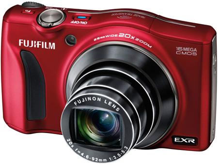 Fujifilm F800EXR — компактная камера с Wi-Fi и зумом 20х
