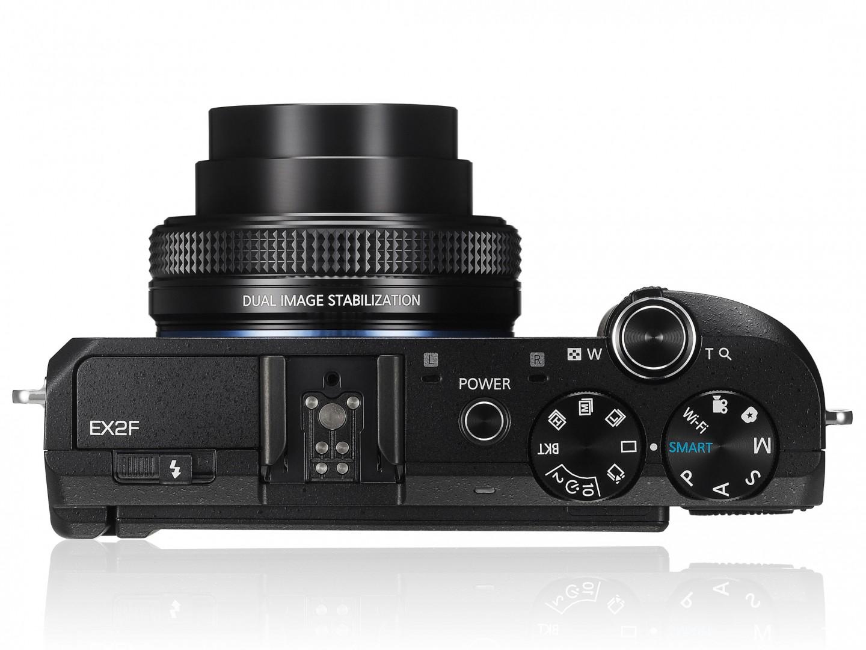 Samsung EX2F — Smart-камера с модулем Wi-Fi