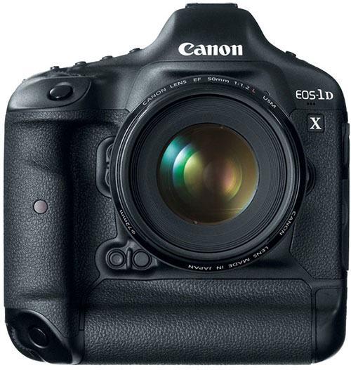 Анонсирован выход камеры Canon EOS-1D X
