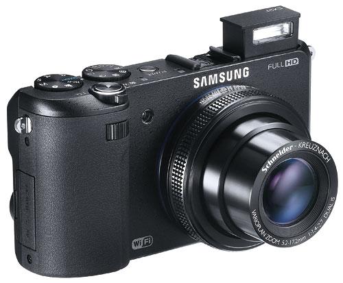 Светосильная камера Samsung EX2F с модулем Wi-Fi прибывает в Россию