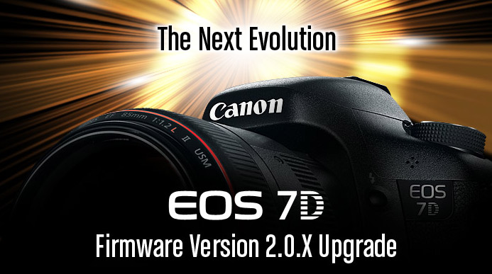 Новая прошивка 2.0.X для Canon EOS 7D