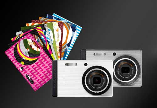 Меняет наряды и камера Pentax Optio RS1500