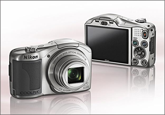 Nikon COOLPIX L610 с 14-кратным зумом и записью видео в Full HD