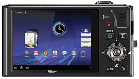 Nikon делает фотоаппарат под ОС Android