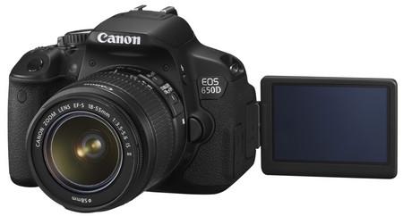 Canon EOS 650D: зеркальная камера с сенсорным экраном
