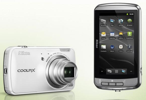 Nikon представила камеру Coolpix S800c на базе Android