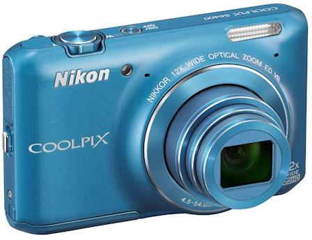 Стильная камера Nikon Coolpix S6400 с 12х оптическим зумом