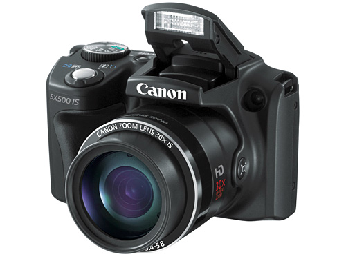 Canon представила PowerShot SX500 IS и SX160 IS