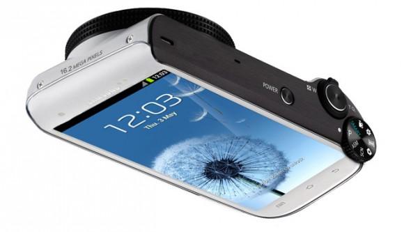 Samsung готовит 16-Мп камеру на основе Galaxy S III
