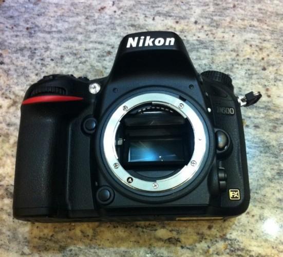 Полнокадровая зеркалка Nikon D600 ожидается в сентябре