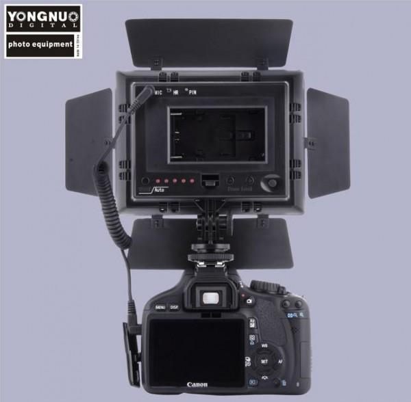 Yongnuo YN160II – мобильный свет со встроенным микрофоном