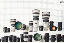 Компания Canon продала более 80 млн объективов EF