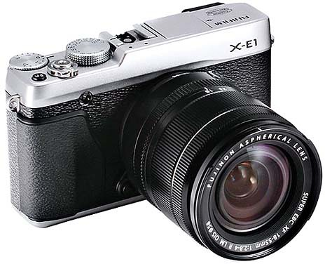 Fujifilm представила цифровые камеры X-E1 и XF1 X в стиле «ретро»