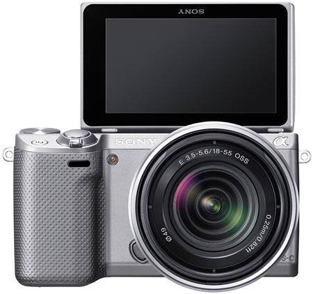 Sony NEX-5R — беззеркальная модель с гибридным автофокусом и Wi-Fi