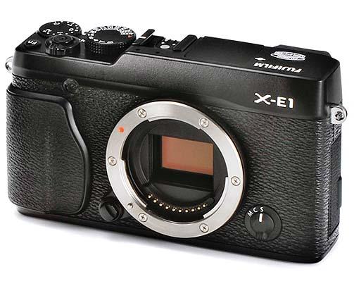 Fujifilm X-E1 — КСК с матрицей X-Trans и OLED ЭВИ 2.36 Мп