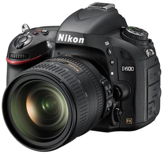 Nikon D600: полный кадр всё легче!