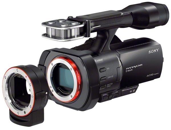 Анонс Sony NEX-VG30H и полнокадровой видеокамеры NEX-VG900