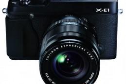 Беззеркалка Fujifilm X-E1 в стиле ретро