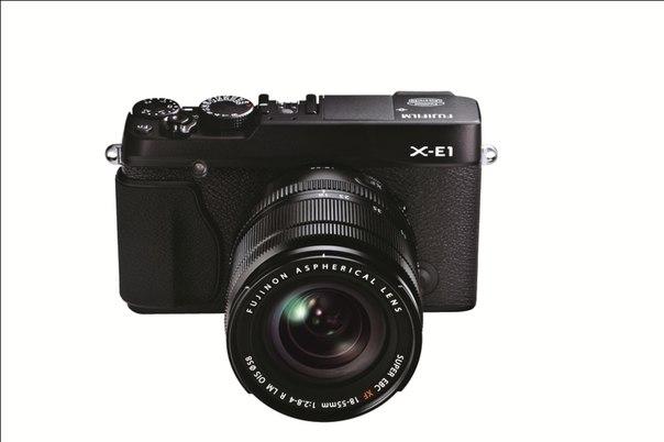 В России открыт предзаказ на системные фотокамеры FUJIFILM X-E1