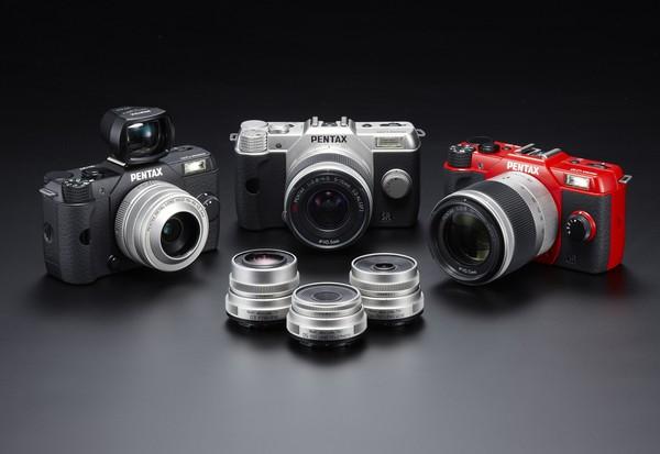 Выпущена цифровая компактная камера PENTAX Q10 со сменными объективами
