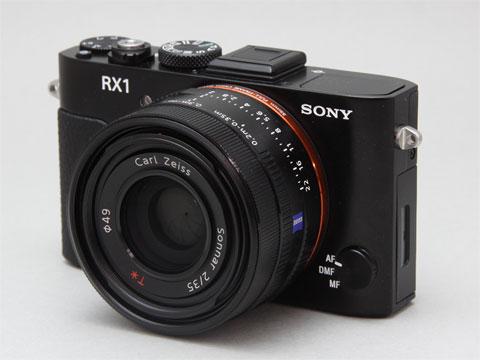 Sony DSC-RX1 получила награду CES за инновации