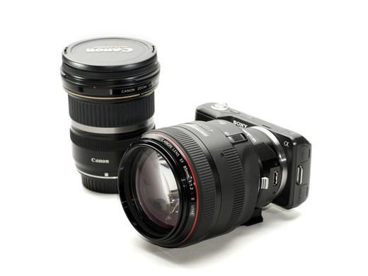 Переходник на объективы Canon EF для Sony NEX получил автофокус.