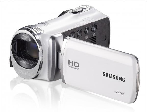 Samsung HMX-F90: видеокамера с 52-кратным оптическим трансфокатором