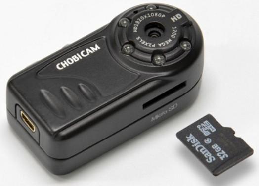Chobi Cam Pro 2: самая маленькая камера с системой ночного видения
