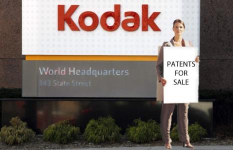 Патенты Kodak покупают Apple и Google