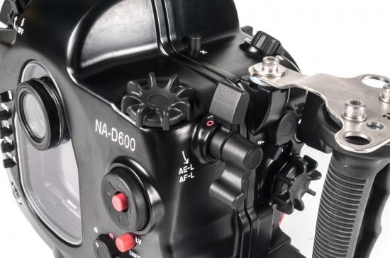 Nauticam представила подводный бокс для Nikon D600