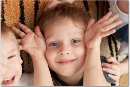 Процесс фотосъемки в детском саду