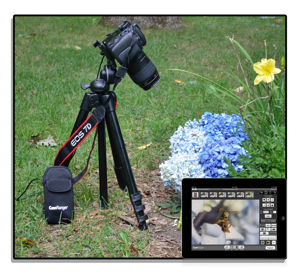 CamRanger — беспроводной пульт управления фотокамерой