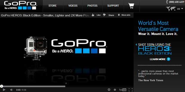 Благодаря Foxconn рыночная стоимость GoPro увеличилась почти в пять раз
