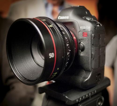 Canon 1DC – Профессиональная камера 4K (H)DSLR