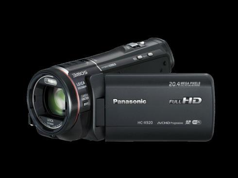 Новый модельный ряд видеокамер Panasonic