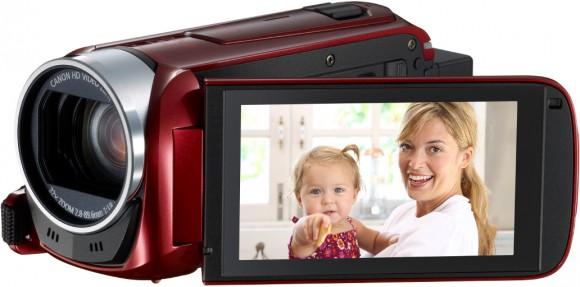 Canon Legria HF R анонс линейки камер начального уровня