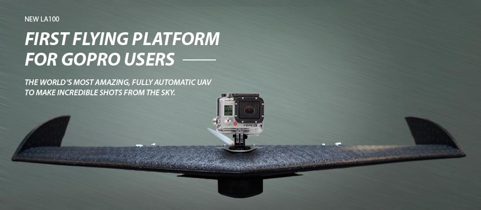 Lehmann представилабеспилотный летающий аппарат LA100, специально предназначенный для аэрофотосъемки