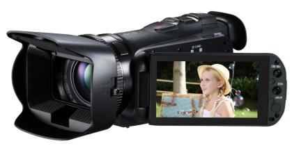 компания Canon представила  Legria HF G25, камеру для энтузиастов