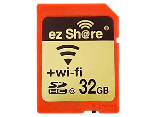 EzShare — карта памяти SDHC с отключаемым модулем Wi-Fi.