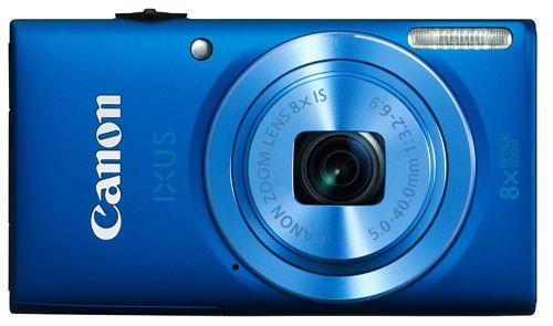 Canon представила новые камеры серии IXUS