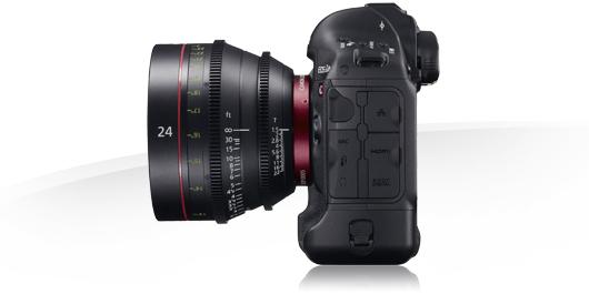 Canon объявила о расширении функциональных возможностей камеры EOS-1D C